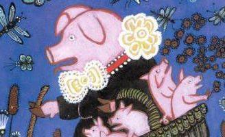 Свинушка — русская народная песенка. Фольклор для детей.