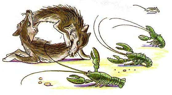 волки скушали друг друга
