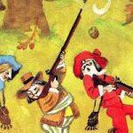 Три зверолова - Самуил Маршак. Читать с иллюстрациями.