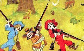 Три зверолова — Самуил Маршак. Читать с иллюстрациями. 5 (1)