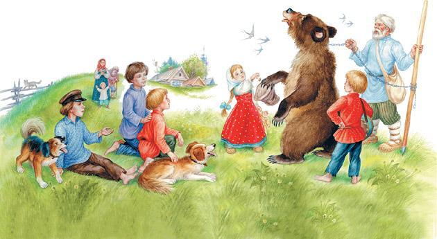 Ученый медведь - Ушинский К.Д.