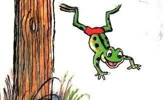 Упрямый лягушонок — Сергей Михалков. Читать с картинками Сутеева.