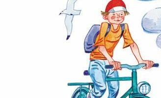 Велосипедист — Сергей Михалков. Читать онлайн с картинками.