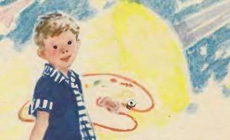 Волшебные краски — Пермяк Е.А. Читать онлайн с картинками.