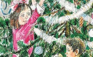 Ёлка — рассказ Зощенко. Читать онлайн с иллюстрациями.