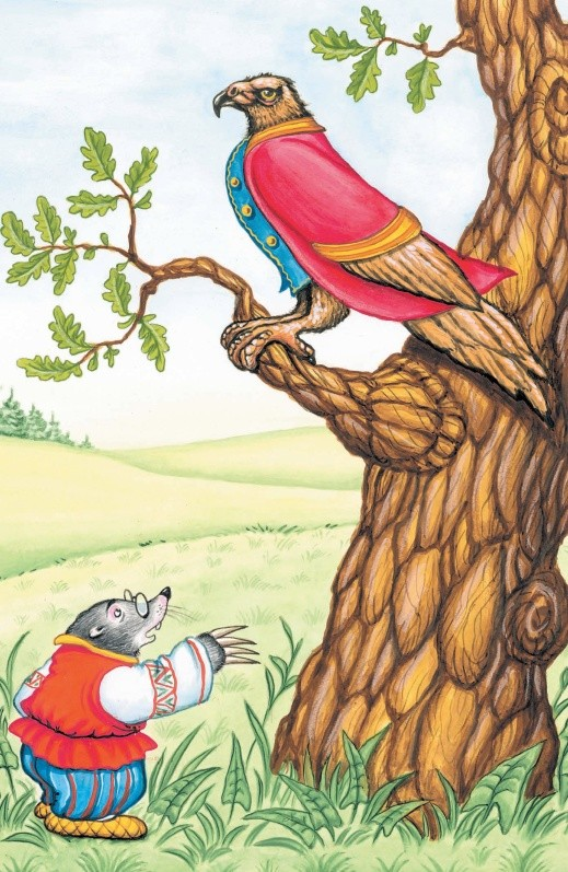 Орел и Крот - басня Крылова