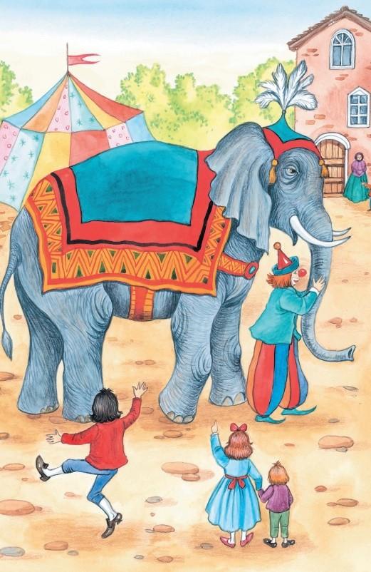 Слон и Моська - басня Крылова