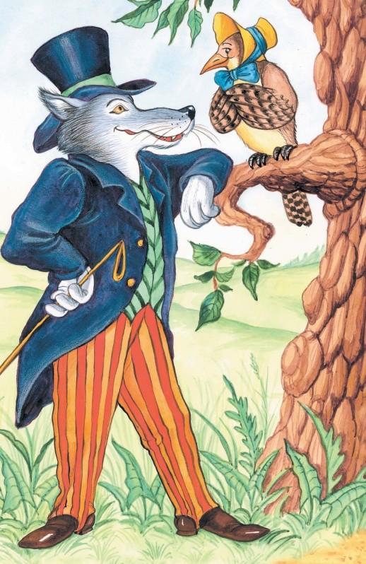 Волк и Кукушка - басня Крылова