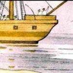Акула - Толстой Л.Н. Рассказ об опасном заплыве мальчишек в море.