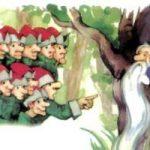 Бородка - украинская народная сказка. Сказка про человечка с бородой.