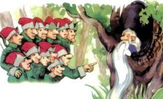 Бородка — украинская народная сказка. Сказка про человечка с бородой.
