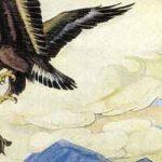 Черепаха и орел - Толстой Л.Н. Басня как орел учил летать черепаху.