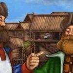 Два купца - Толстой Л.Н. Басня как один купец хотел обмануть другого.