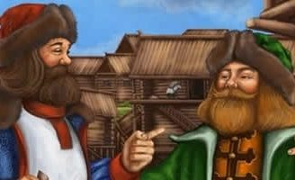 Два купца — Толстой Л.Н. Басня как один купец хотел обмануть другого. 9 (2)