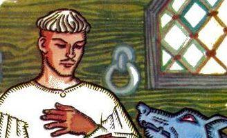 Иван-царевич и железный волк — украинская народная сказка.