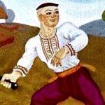 Катигорошек - украинская народная сказка. Сказка про богатыря.