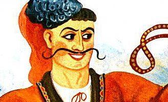Казак Мамарыга — украинская народная сказка. Сказка про храброго казака.