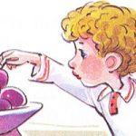 Косточка - Толстой Л.Н. Рассказ как мальчик съел сливу и не признался.
