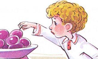 Косточка — Толстой Л.Н. Рассказ как мальчик съел сливу и не признался. 4.2 (5)