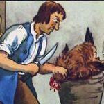 Курица и золотые яйца - Толстой Л.Н. Басня про жадного хозяина курицы.