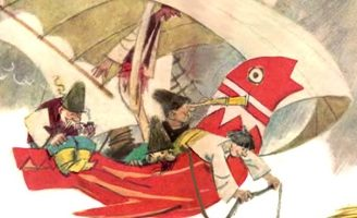 Летучий корабль — украинская народная сказка. Волшебная сказка.