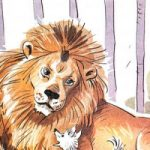 Лев и собачка - Толстой Л.Н. Рассказ про дружбу льва и маленькой собачки