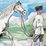 Осел и лошадь - Толстой Л.Н. Басня про взаимопомощь.