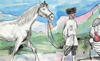 Осел и лошадь — Толстой Л.Н. Басня про взаимопомощь.