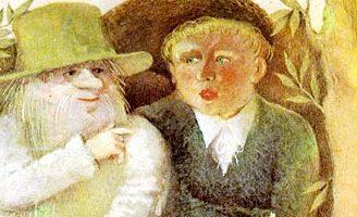 Ох — украинская народная сказка. Сказка про колдуна Оха и хлопца.