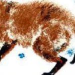 По следам: Снежная книга - Бианки В.В. Как лиса зайца по следам ищет.