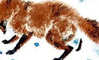 По следам: Снежная книга — Бианки В.В. Как лиса зайца по следам ищет.