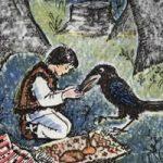 Про бедного человека и Вороньего царя - украинская народная сказка.