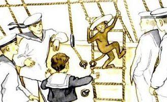 Прыжок — Толстой Л.Н. Рассказ про прыжок мальчика с большой высоты. 5 (1)