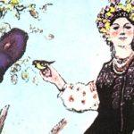 Разумница - украинская народная сказка. Сказка про смышленую девушку.