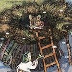 Рукавичка - украинская народная сказка. Как зверушки в рукавичке жили.