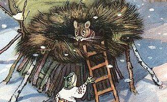 Рукавичка — украинская народная сказка. Как зверушки в рукавичке жили.