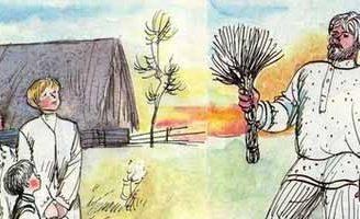 Садовник и сыновья — Толстой Л.Н. Басня про садовника и сыновей.