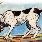 Собака и ее тень - Толстой Л.Н. Басня про жадную собаку.