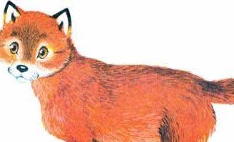 Собака, петух и лисица — Толстой Л.Н. Басня про взаимовыручку.