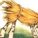 Соломенный бычок - украинская народная сказка. Сказка про деда и бабу.
