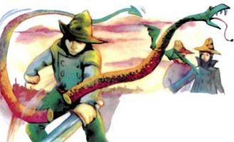 Три брата и змей — украинская народная сказка. Волшебная сказка.