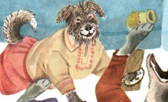 Жил был пес — украинская народная сказка Сказка про старого пса и волка. 0.1 (108)