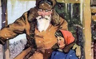 Зимнее летечко-1. Бианки В.В. Рассказ как Майка поверила в чудеса.