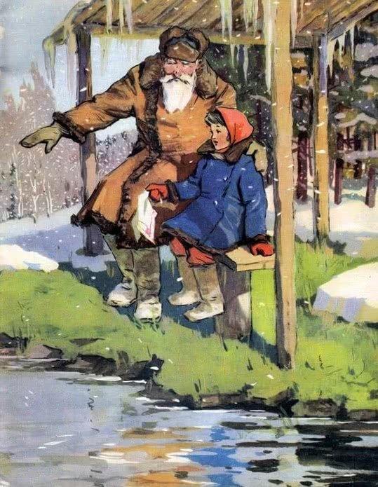 Зимнее летечко-1. Зимнее летечко - Бианки В.В.