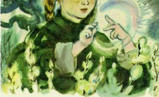Стальное колечко — К. Паустовский Сказка про девочку и волшебную красоту природы