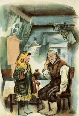 Стальное колечко - К. Паустовский Сказка про девочку и волшебную красоту природы