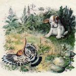 Первая охота - М. Пришвин Рассказ про маленького, хитрого и неопытного щенка