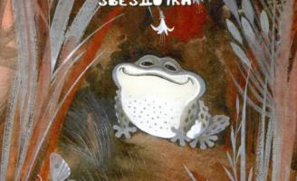 Серая звездочка — Б.В. Заходер Сказка про жабу которую обижали