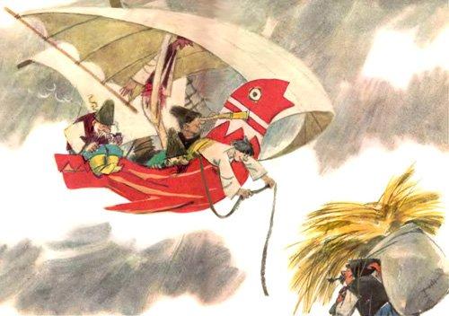 Летучий корабль - украинская народная сказка