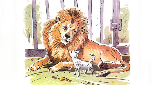 Лев и собачка - Толстой Л.Н.